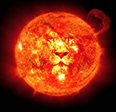 Solar Eclipse in Leo