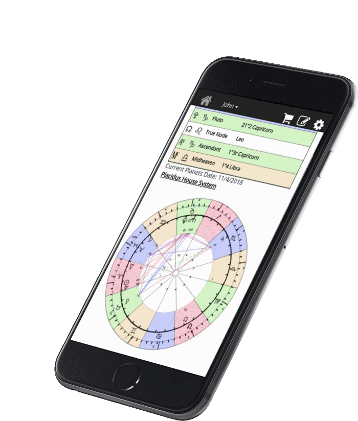 Astromatrix App Free Birth Charts Compatibility Reports And Daily