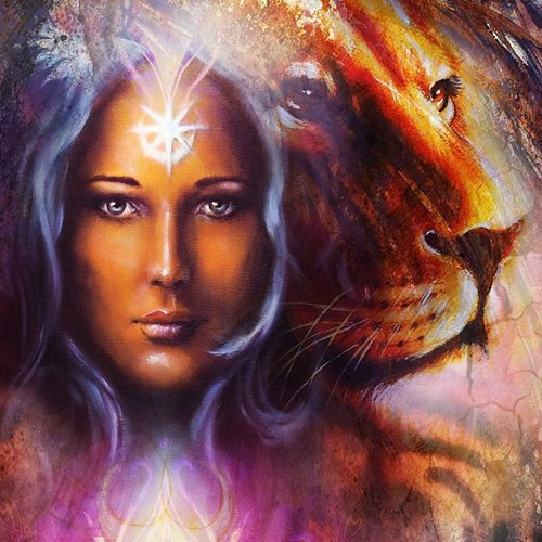 Ascendant in Leo Planets-in-Signs