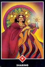 Queen of Wands Tarot Court Cards