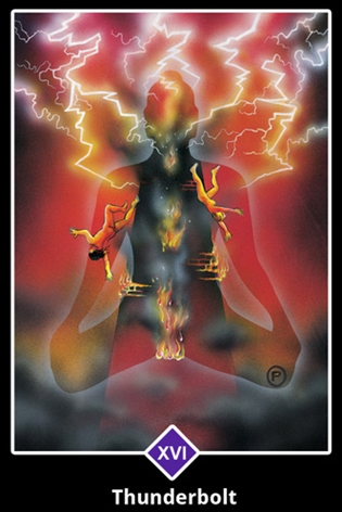 The Tower Tarot-Major-Arcana