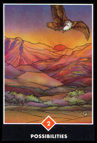 2 of Wands Tarot-Minor-Arcana