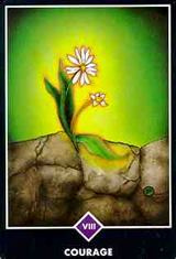 Strength Tarot Major Arcana