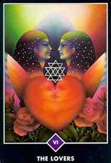 The Lovers Tarot Major Arcana