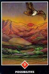 2 of Wands Tarot Minor Arcana